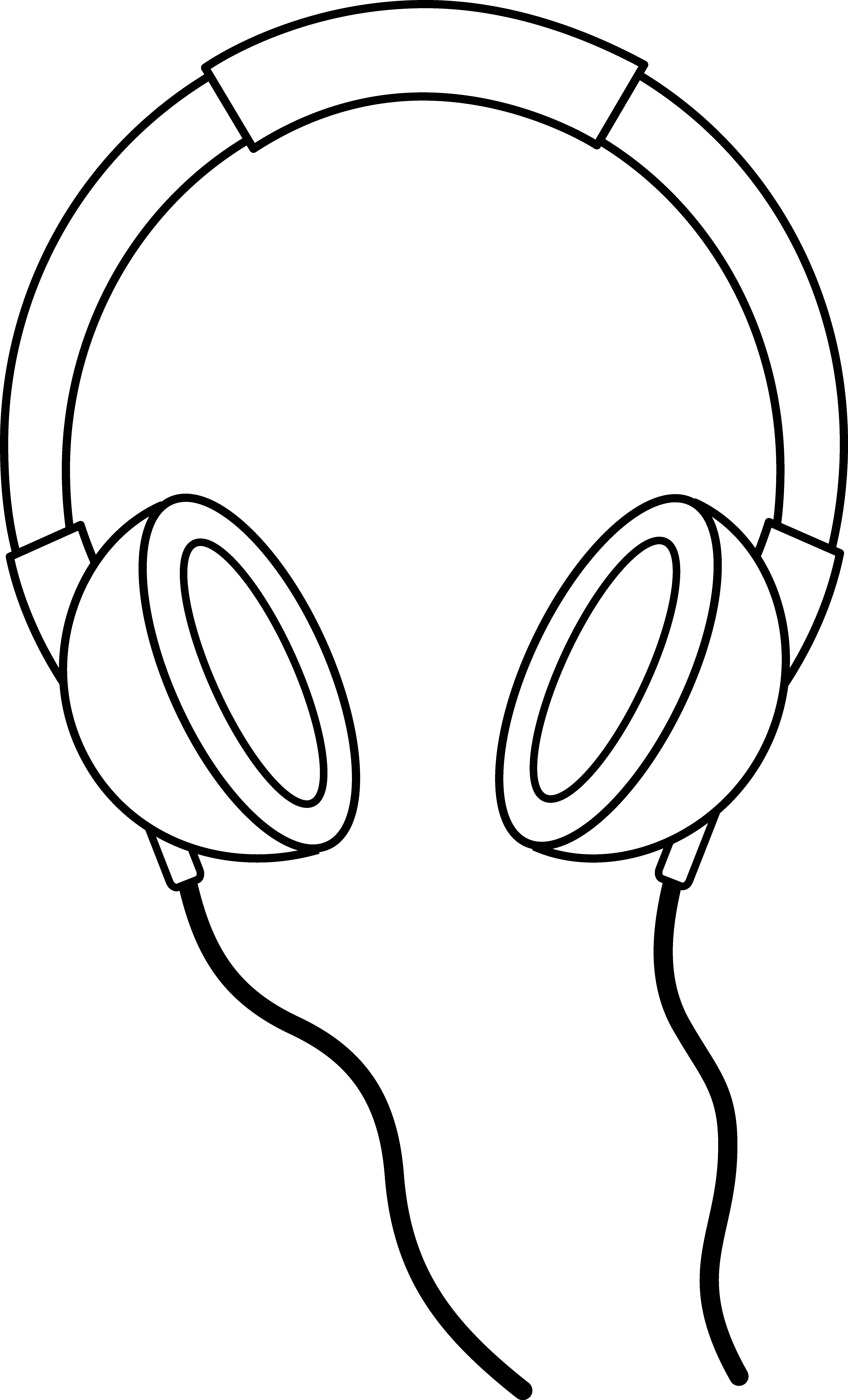 Earbuds clipart. Collection of computer