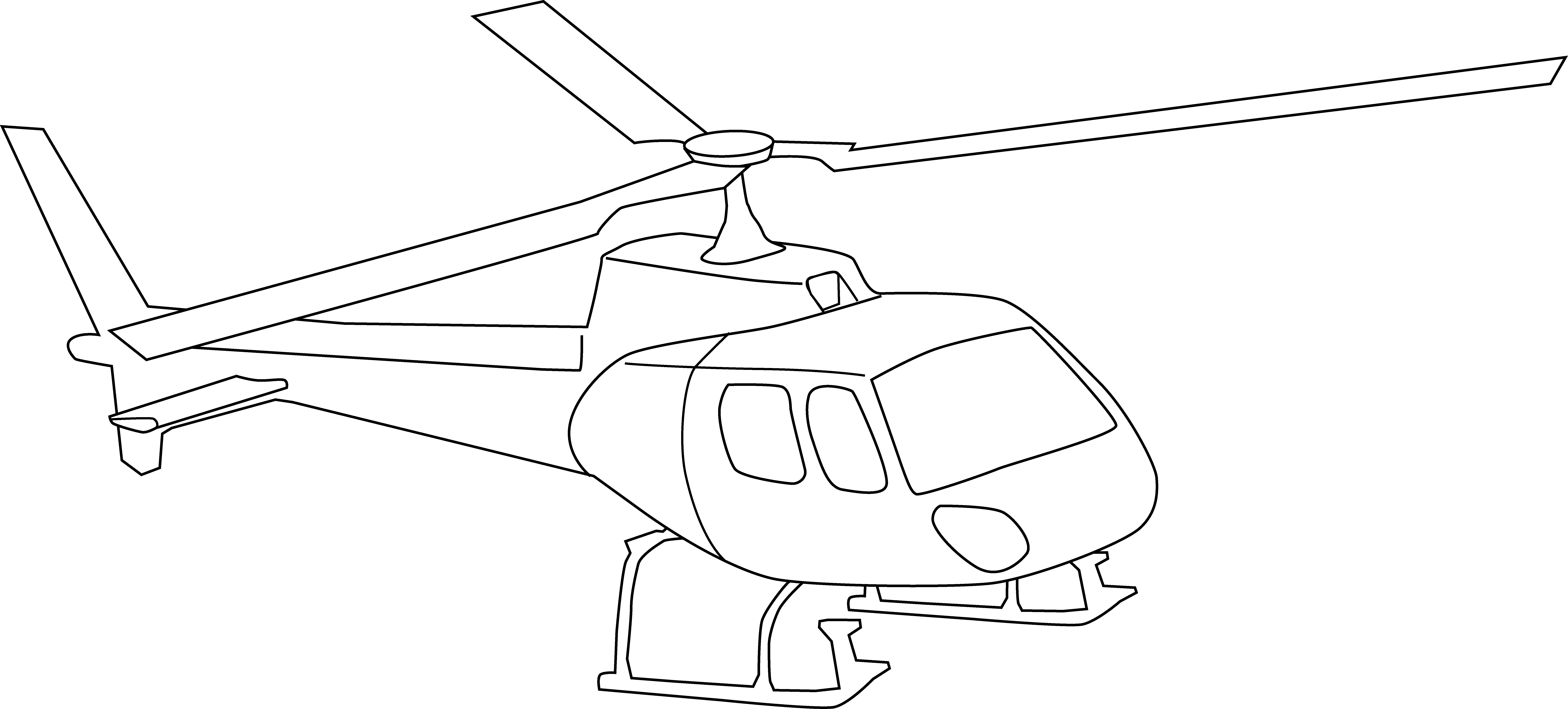 drawing helicopters air ambulance