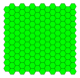 Tessellation vector flat design. Hexagonal tiling wikipedia