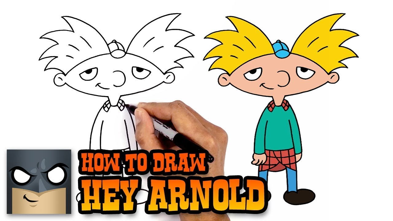 Drawing hey arnold. How to draw art