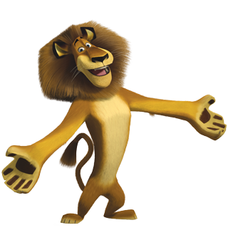 Character transparent movie. Alex madagascar characters jumpstart