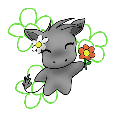 Drawing hippopotamus chibi. Daisy the hippo by
