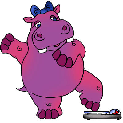 Drawing hippopotamus purple cartoon. Hippo clip freeuse