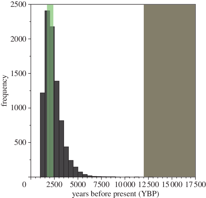 Drawing histograms root. Histogram of the estimated