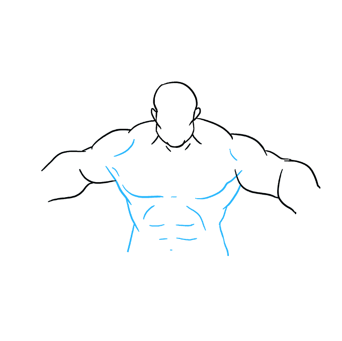 Drawing hulk. How to draw the