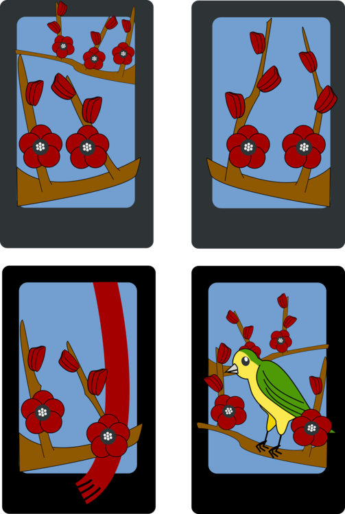 Drawing icons card. Computer playing download game
