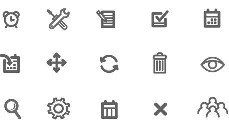 Drawing icons minimalist. How to create effective