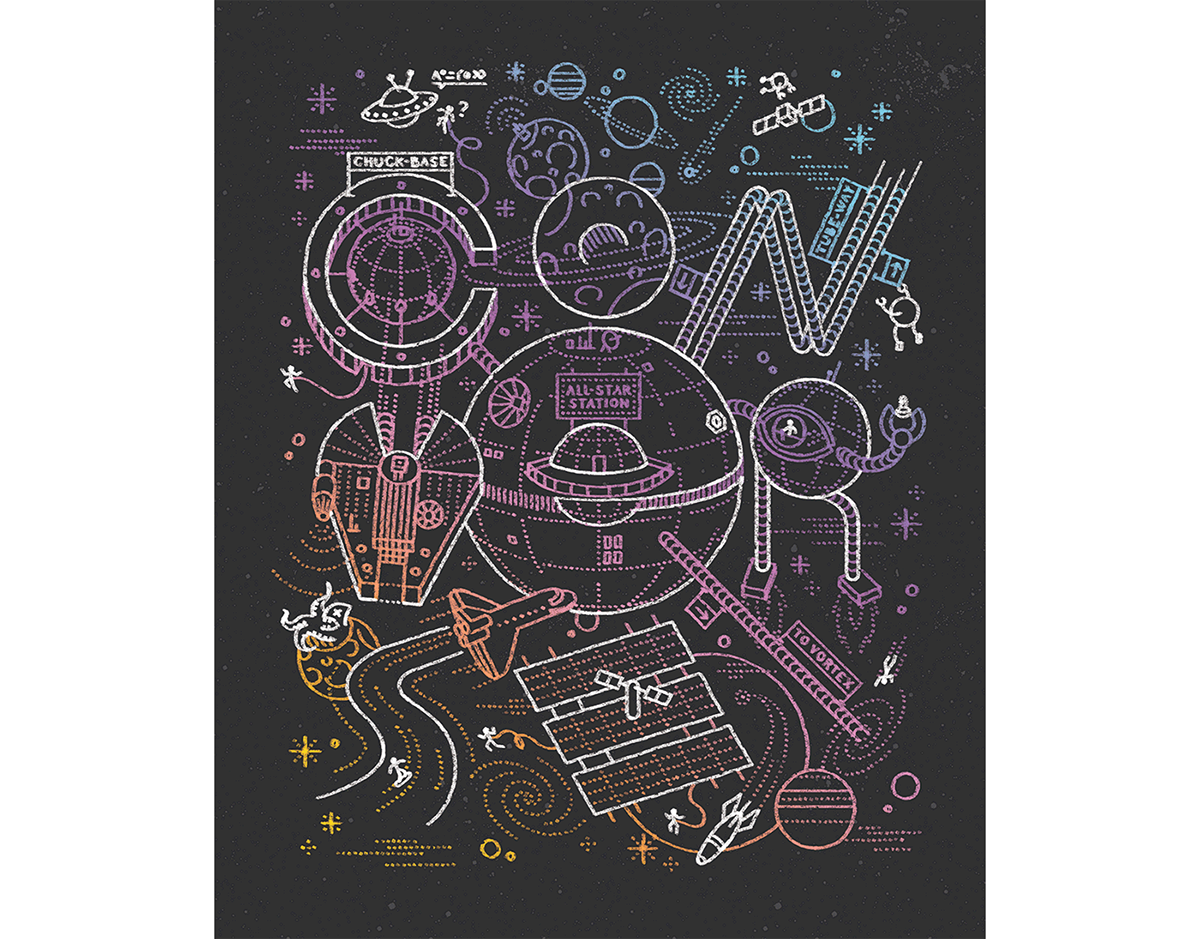 Converse universe print on. Drawing illustration hidden png library