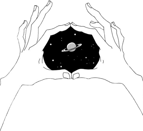 Drawing illustration space. Grunge aesthetic hands tumblr