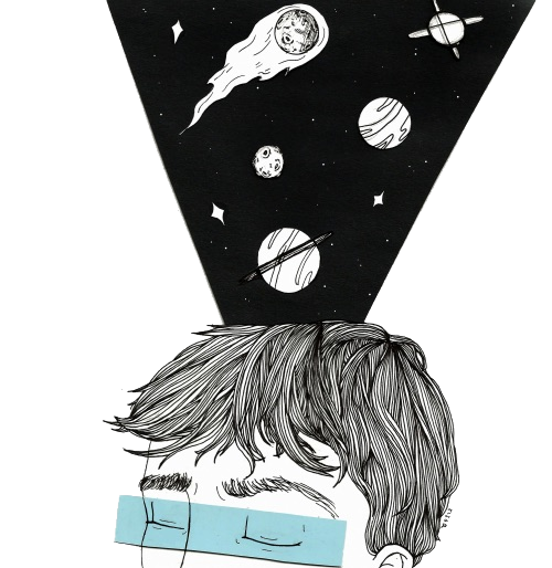 Drawing illustration space. Transparents and troye photo
