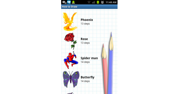 drawing insect famous