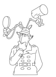 Drawing inspector gadget