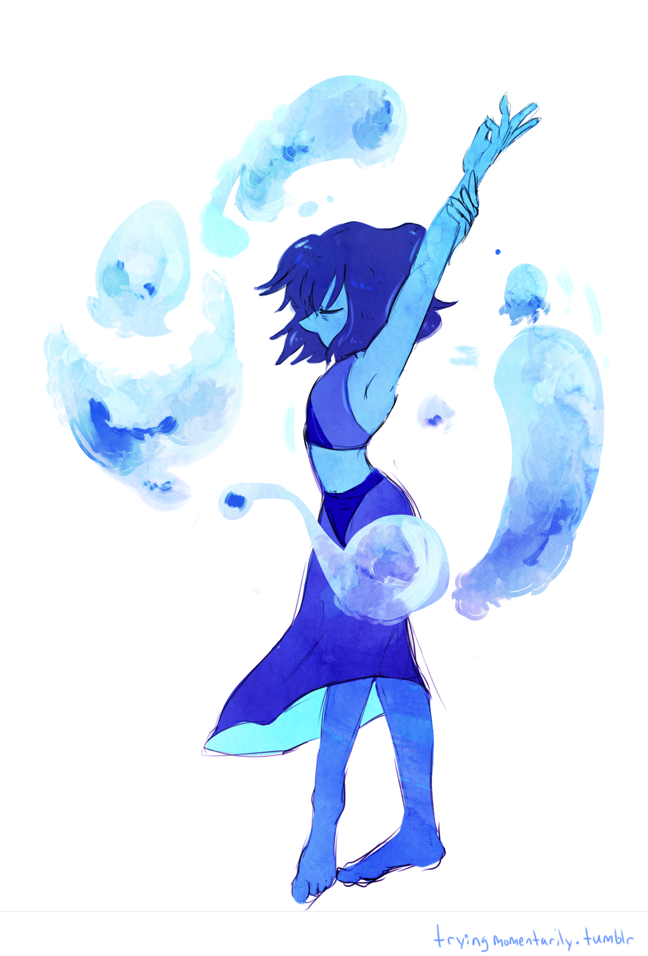 Drawing inspo city. Tryingmomentarily water witch steven