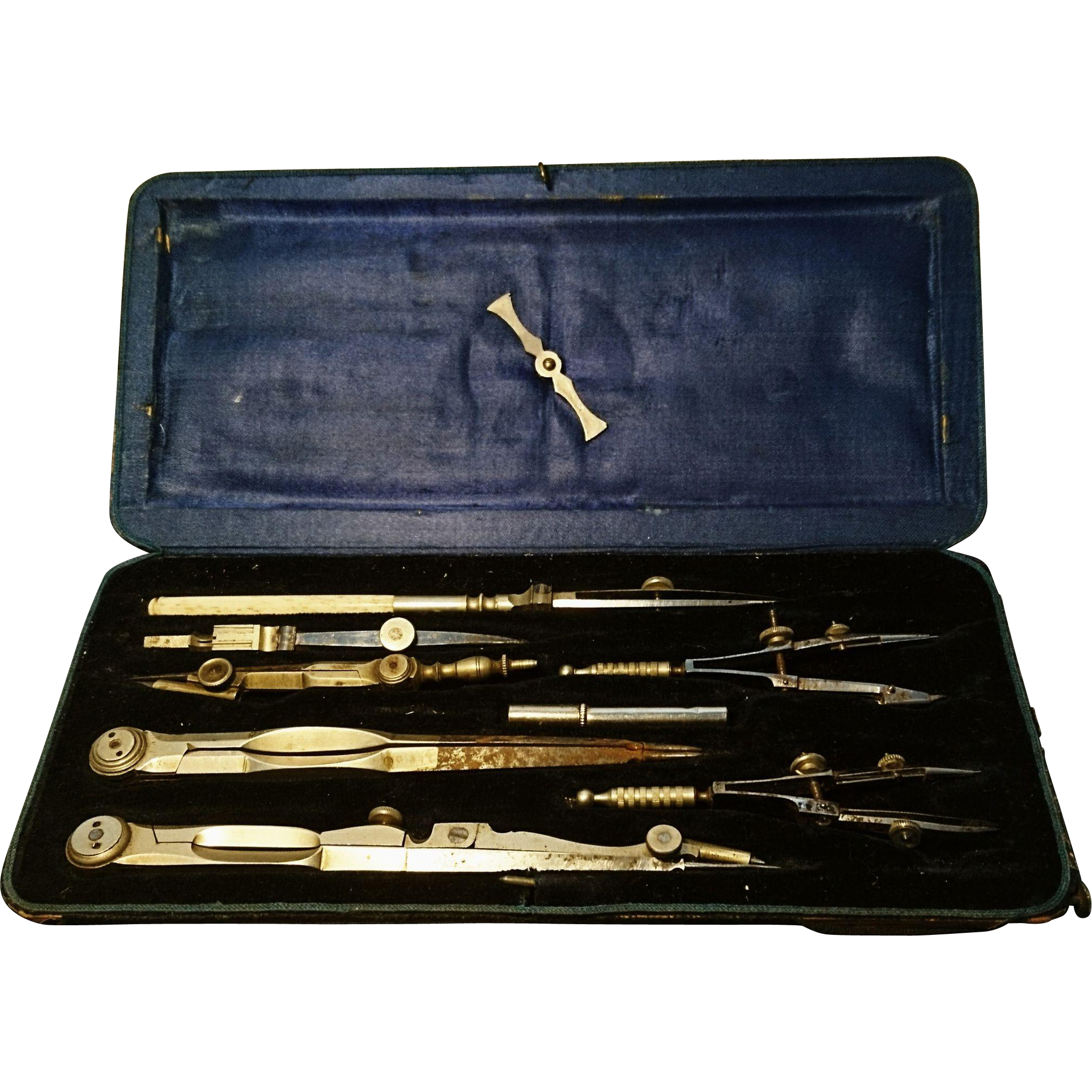 Surgeon drawing 19th century. Excuisite th architects tools