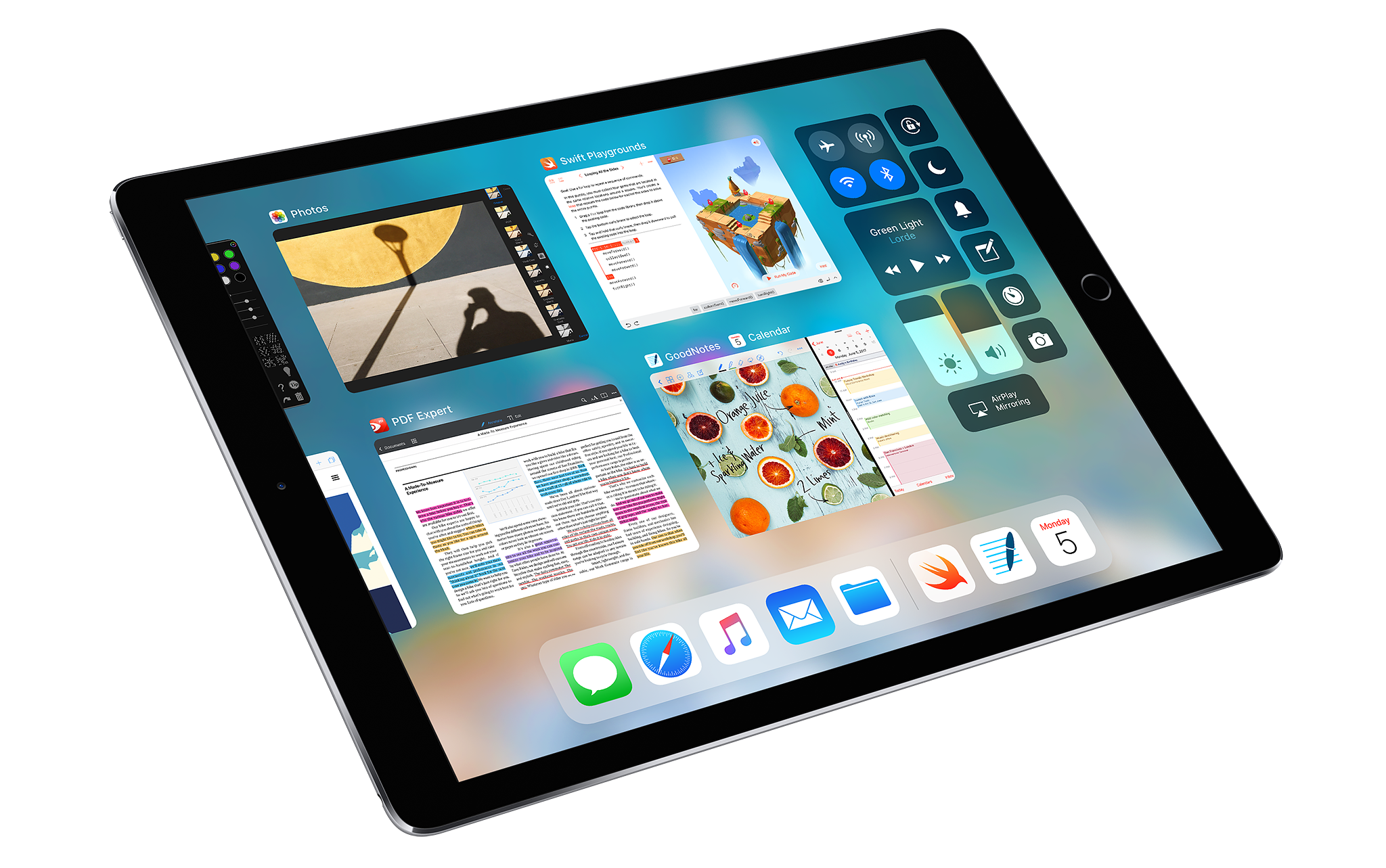 Drawing ipad 9.7. Pro new features and