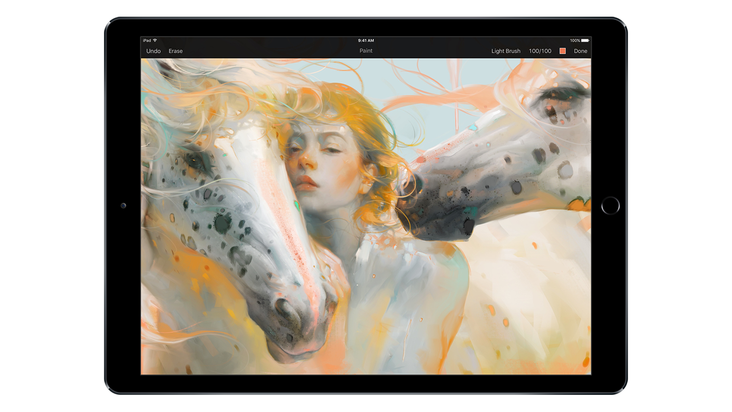 Drawing ipad artwork. Pixelmator is here with
