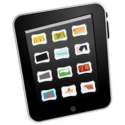 Drawing ipad comic. Gallery icon download icons