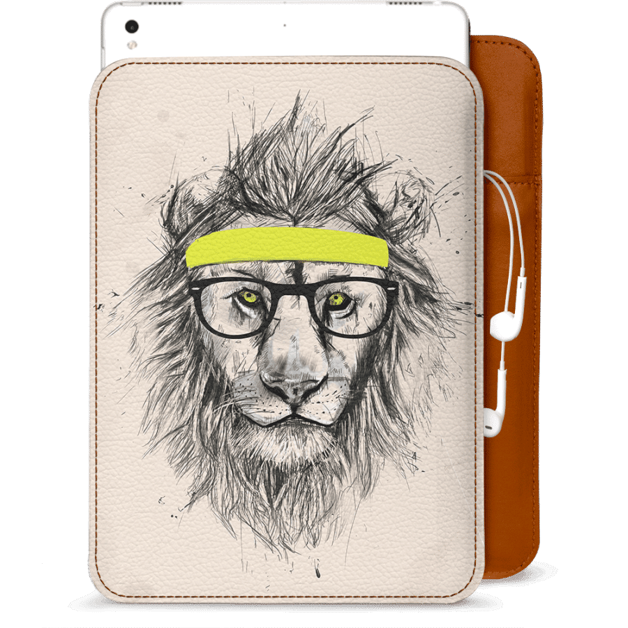 Drawing ipad realistic. Dailyobjects hipster lion light