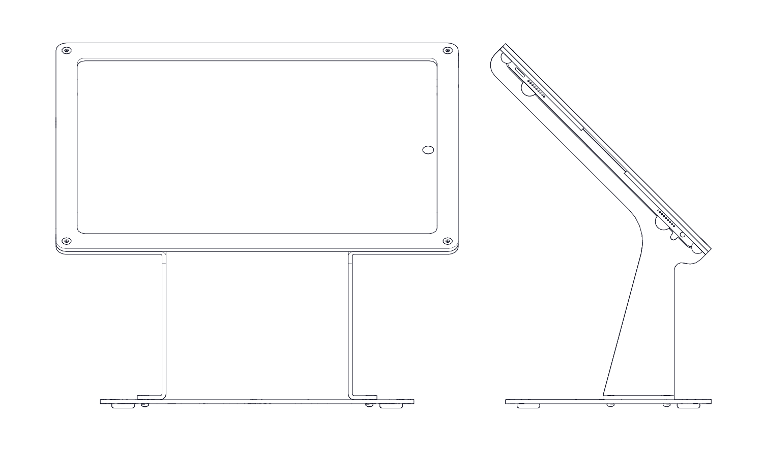 Drawing ipad technical. Heckler design windfall stand