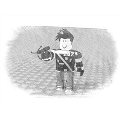 Drawing items person. Pencil roblox