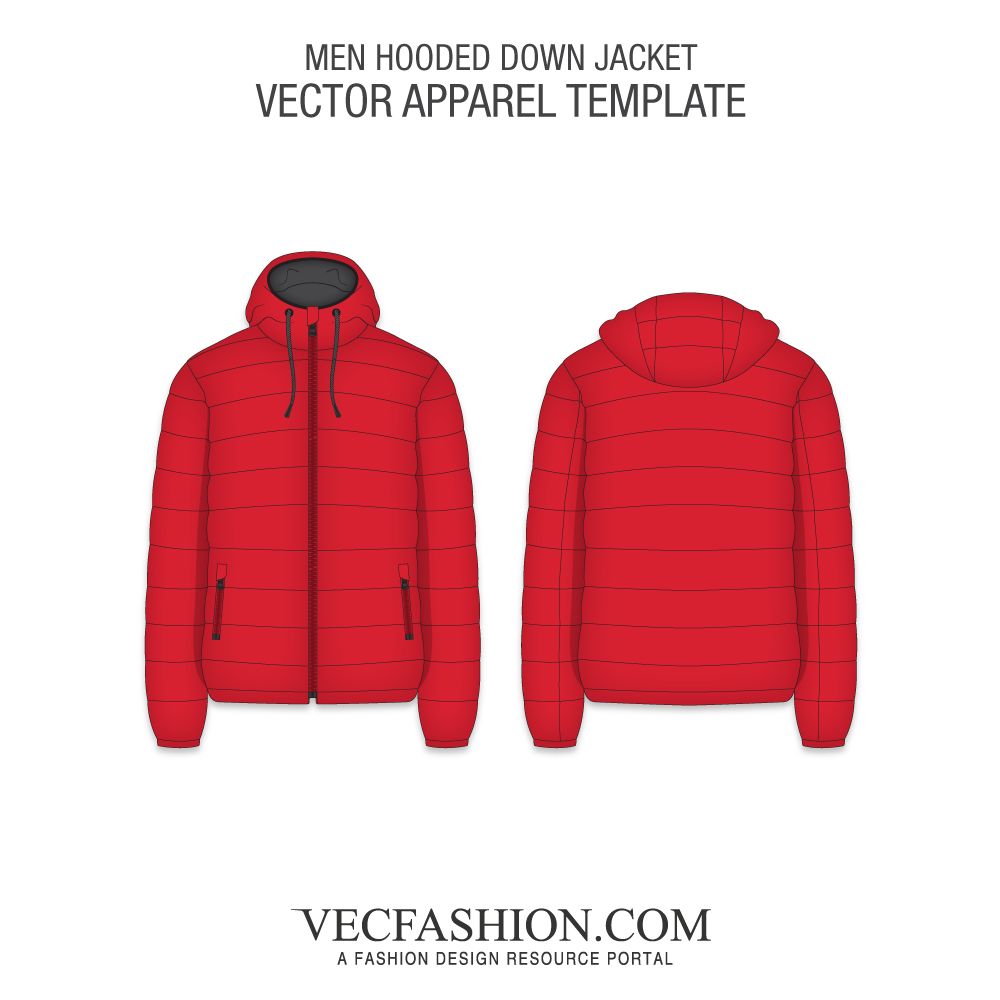 Drawing jackets hood. Coats vecfashion mens hooded