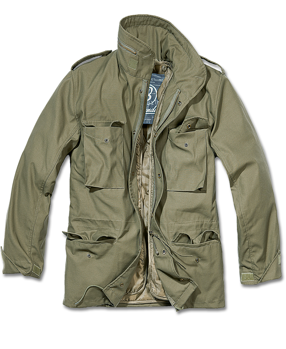 Drawing jackets hooded jacket. Classic fieldjacket removable lining