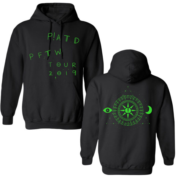 Vector hoodie cropped. Panic at the disco