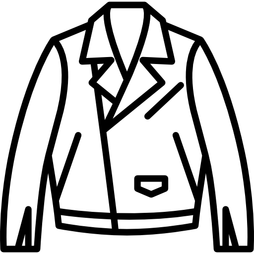 Drawing jackets biker jacket. Leather icons free download