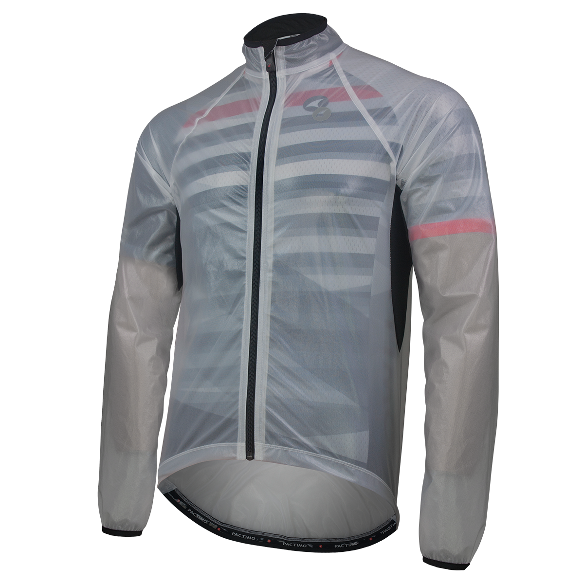 Drawing jackets jacket back. Ultra lite packable cycling
