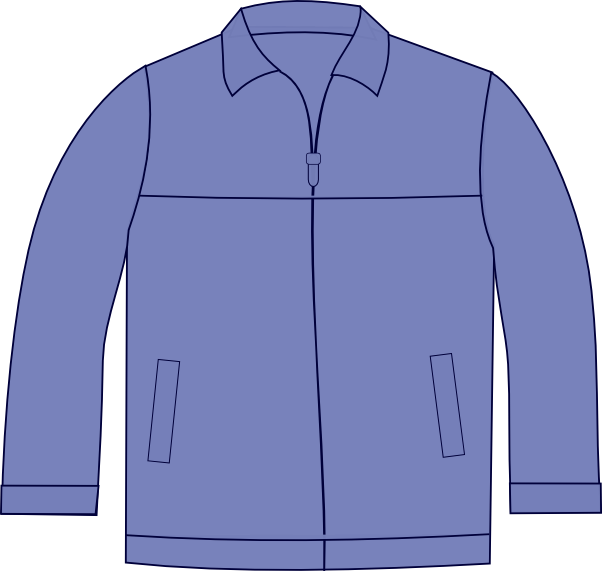 Drawing jackets simple. Free vector and image