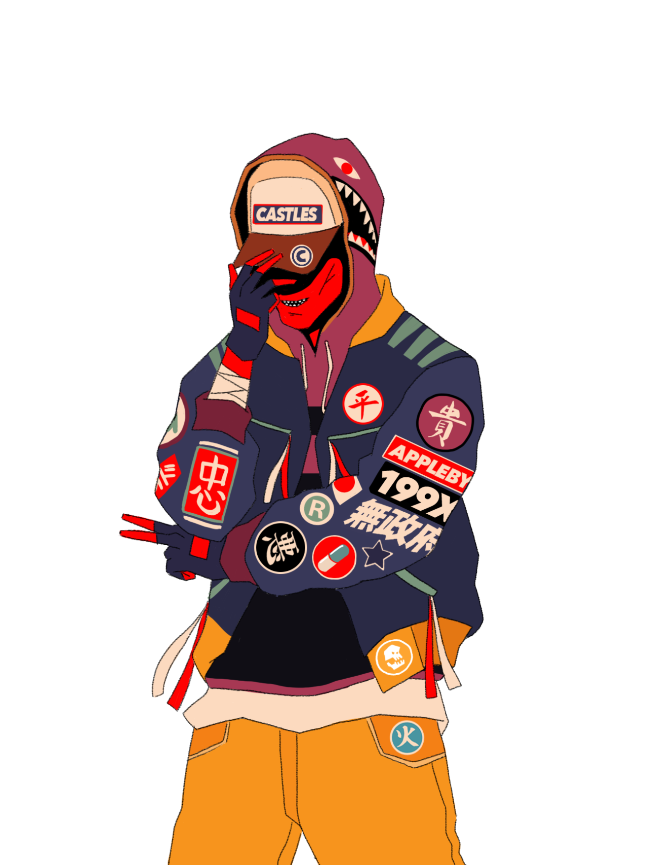 Drawing japanese hip hop. Mau lencinas illustrations pinterest