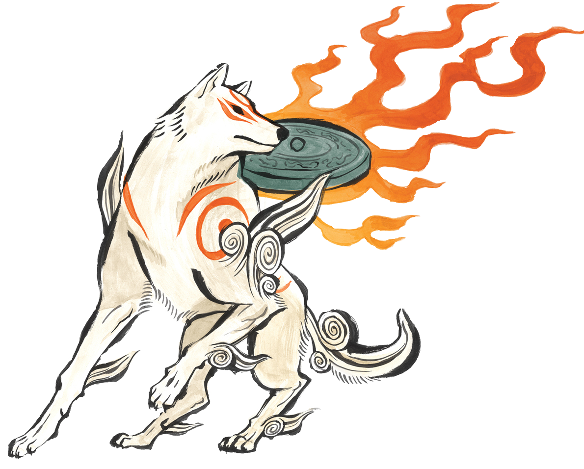 Drawing japanese profile. Amaterasu okami wiki fandom