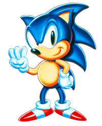 Thunderbolt drawing sonic the hedgehog. Who is your favourite