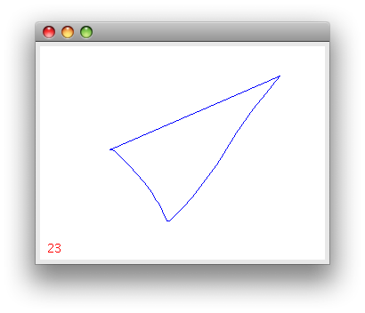 Drawing java paint. Window s content disappears