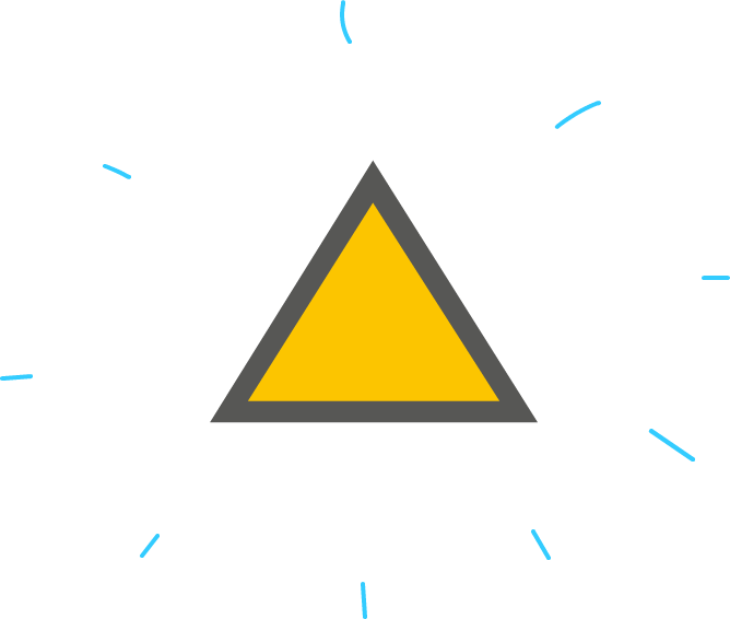 Drawing javascript triangle. Moving shapes on the