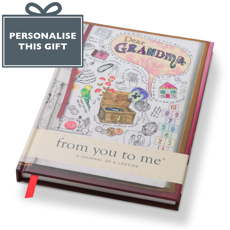 Drawing journals. Dear grandma from you