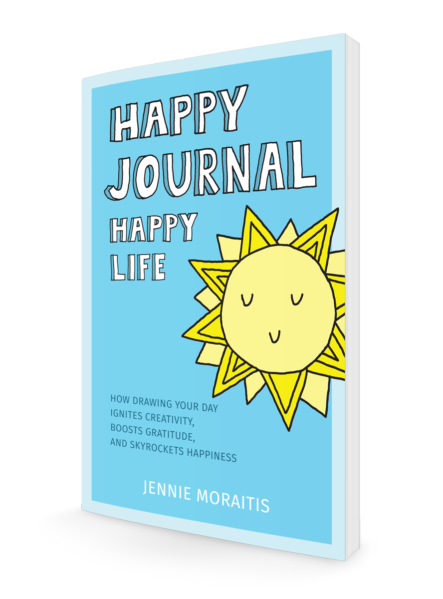 Drawing journals creative. Happy journal life how