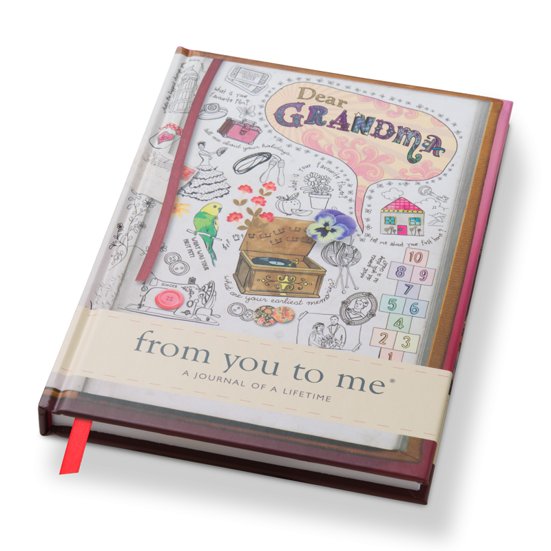 Drawing journals diary. Dear grandma from you