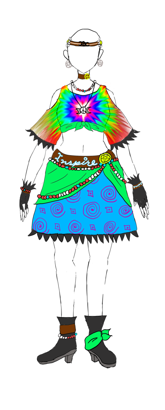 Drawing journals hippie. Anima inspire witch coord