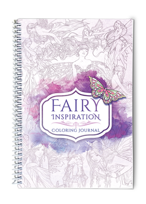 Drawing journals inspiration. Coloring journal fairy home