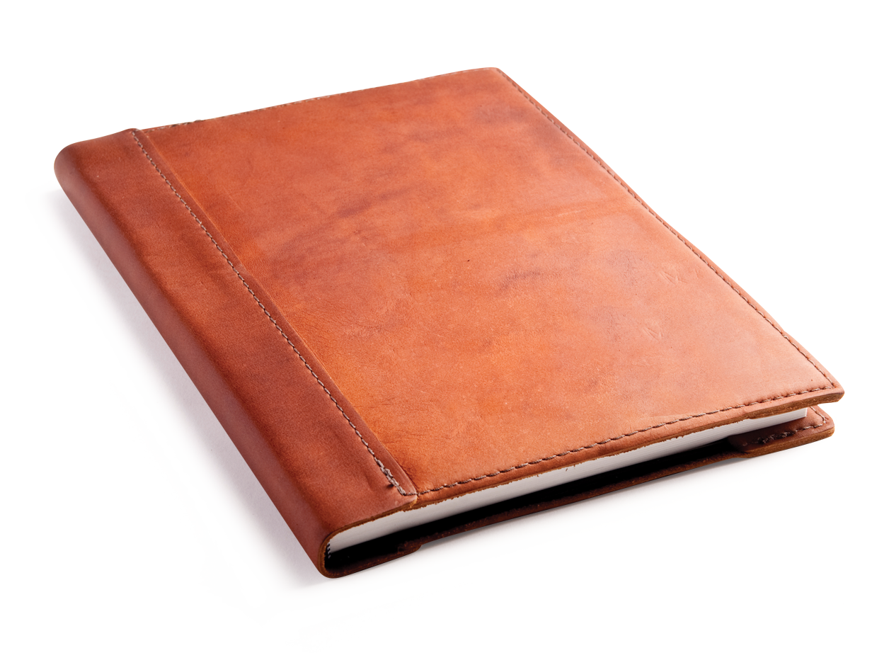 Drawing journals leather. Personalized sketchbooks by blue