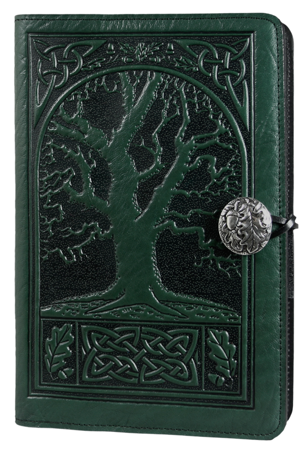 Drawing journals leather. Journal cover diary celtic