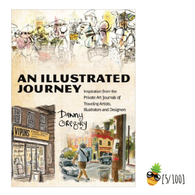 Drawing journals travel. An illustrated journey inspiration
