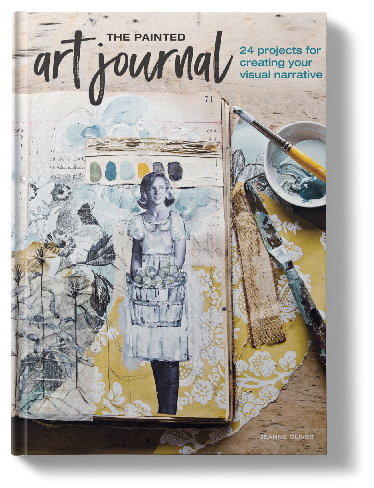 Drawing journals visual. The painted art journal