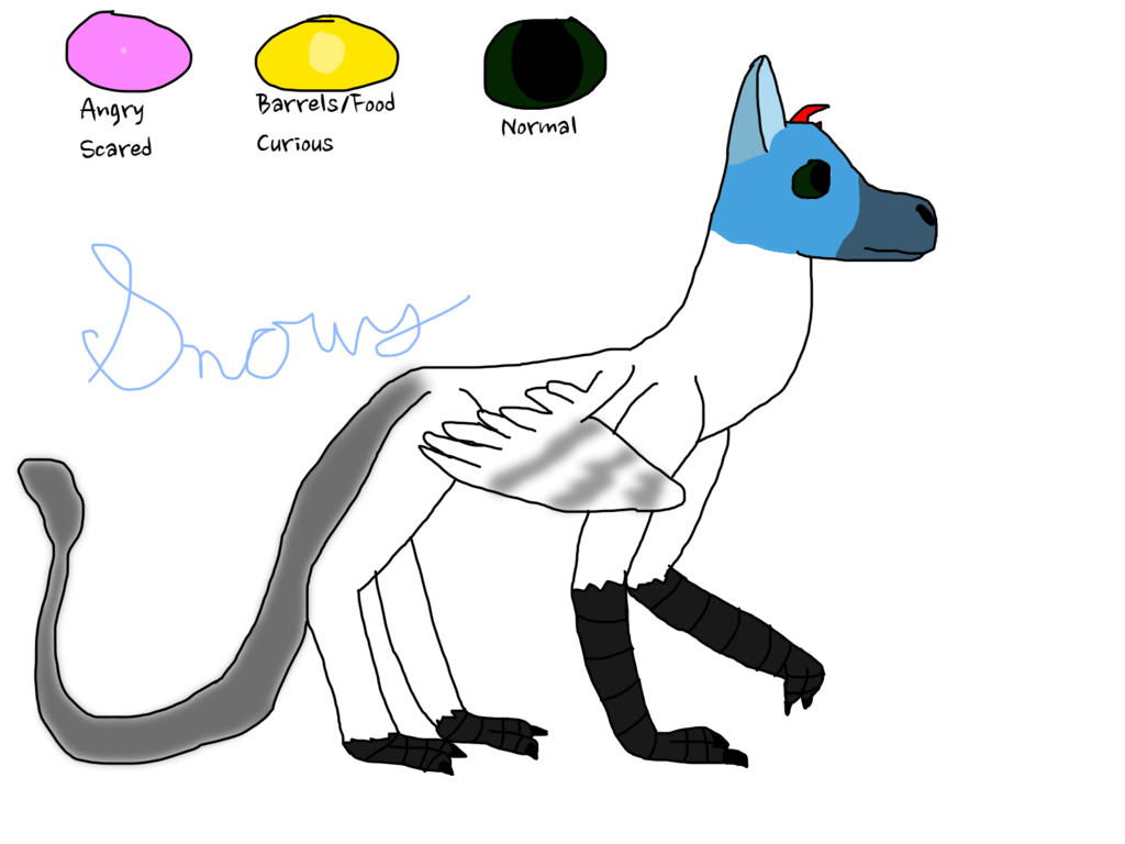 Drawing kangaroo draw something. Snowy the trico by