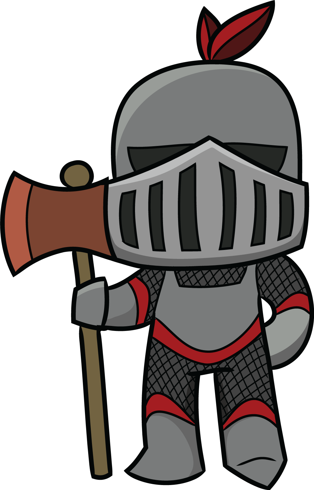 Drawing knight adorable. Middle ages clipart at