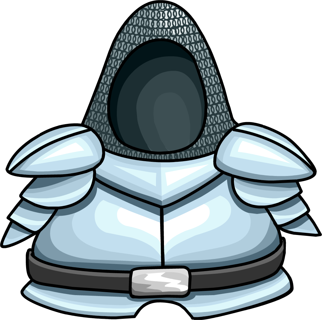 Hooded drawing knight. Costume club penguin wiki