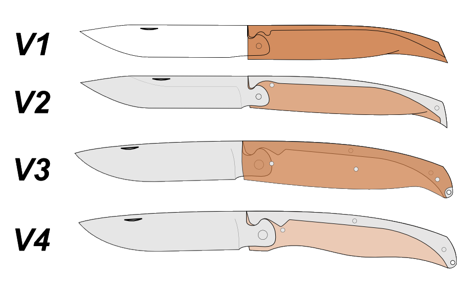Drawing knives bushcraft. Couteau inkscape folders pinterest