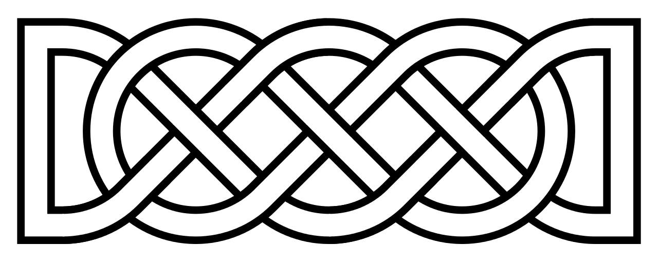 Ouroboros drawing celtic. File knot basic alternate
