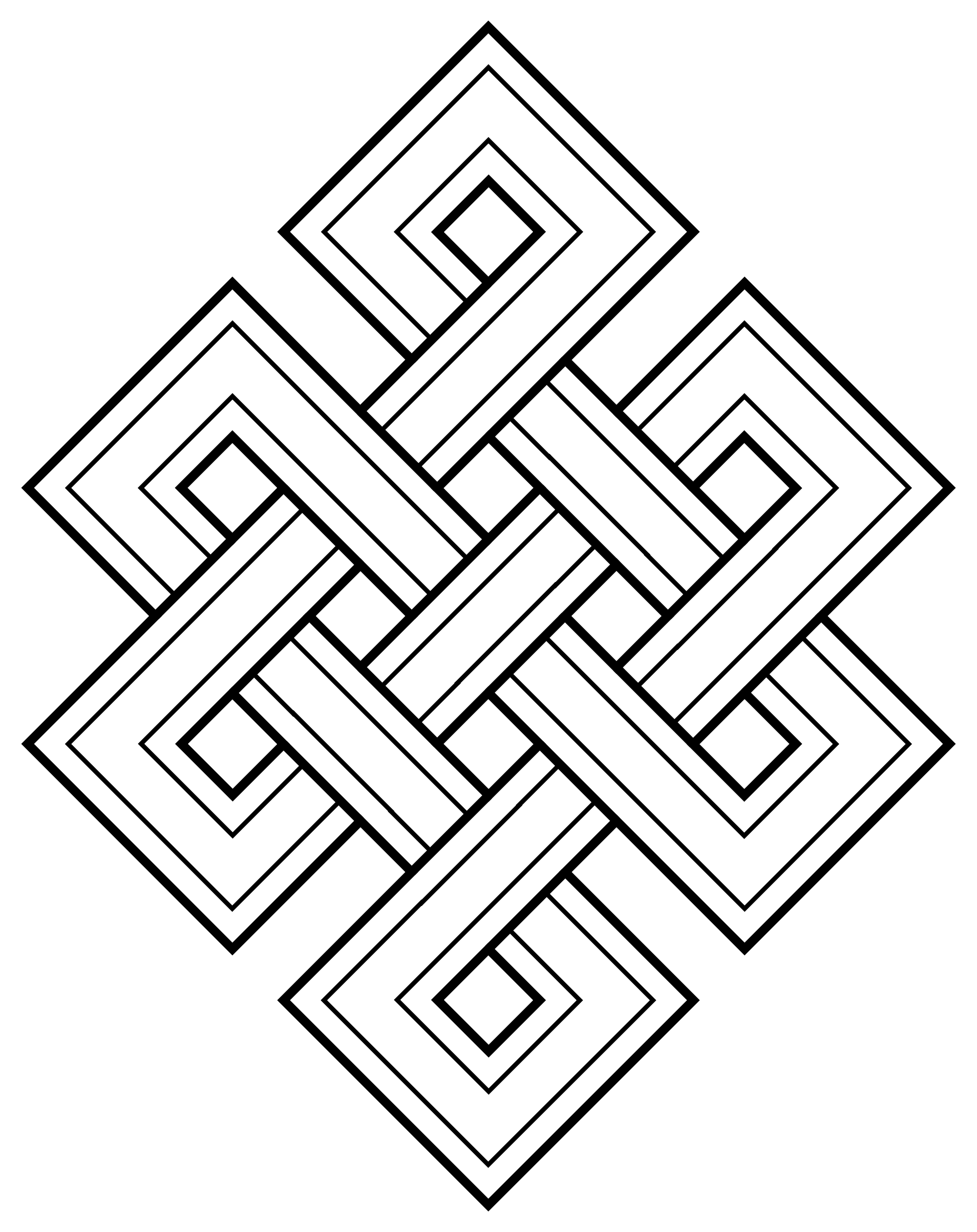 Drawing knots endless. File faith buddhism knot